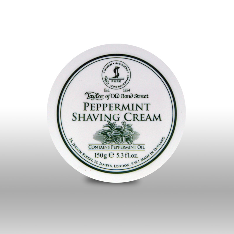 Taylor of Old Bond Street Shaving Cream - Peppermint | Agent Shave