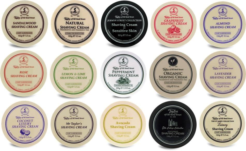 Taylor of Old Bond Street Shaving Cream | Agent Shave