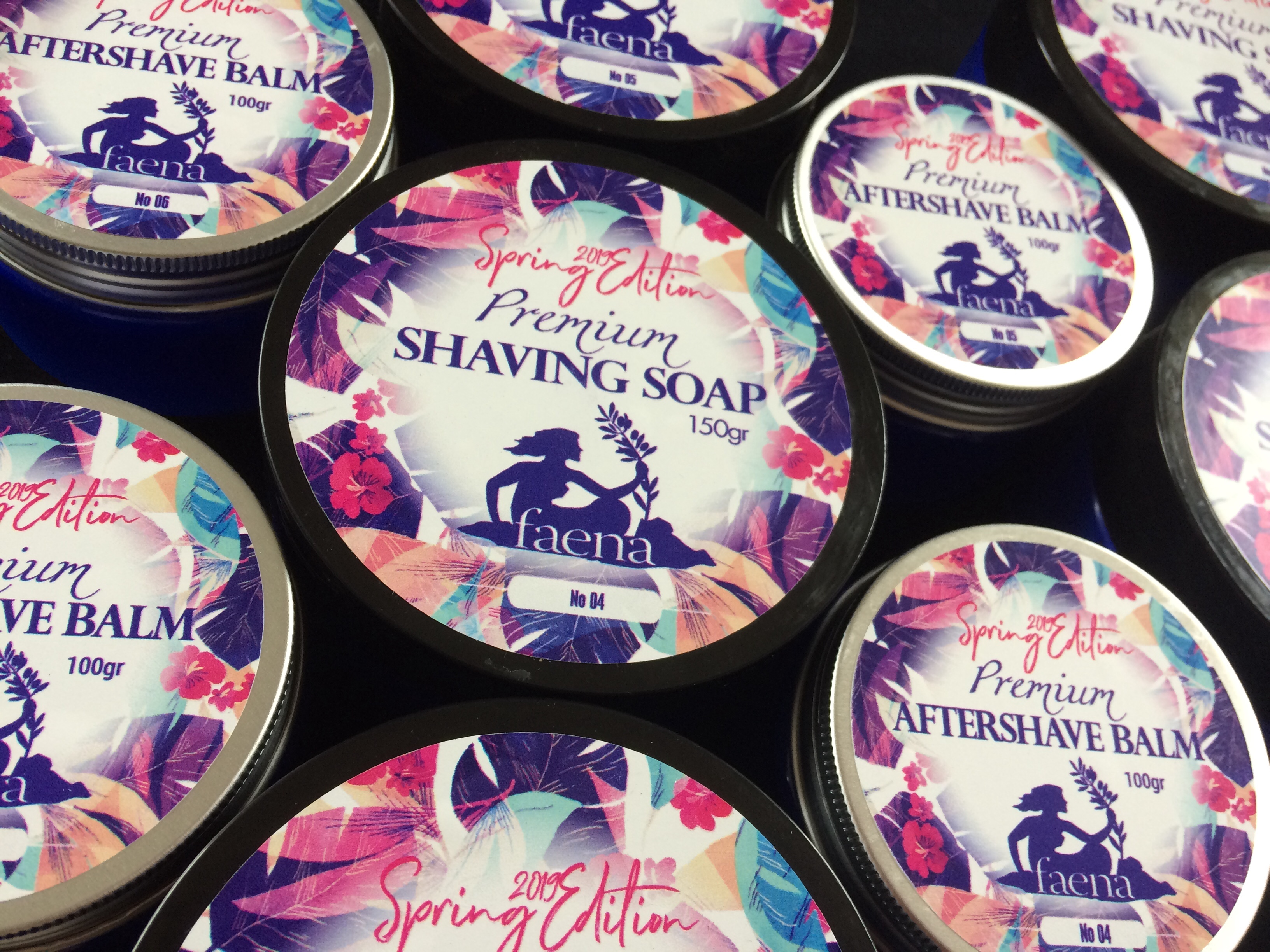 Faena Spring Limited Edition Shaving Soap and Aftershave Balm | Agent Shave