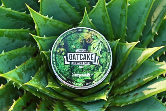 London Oatcake Driftwood Shaving Soap | Agent Shave