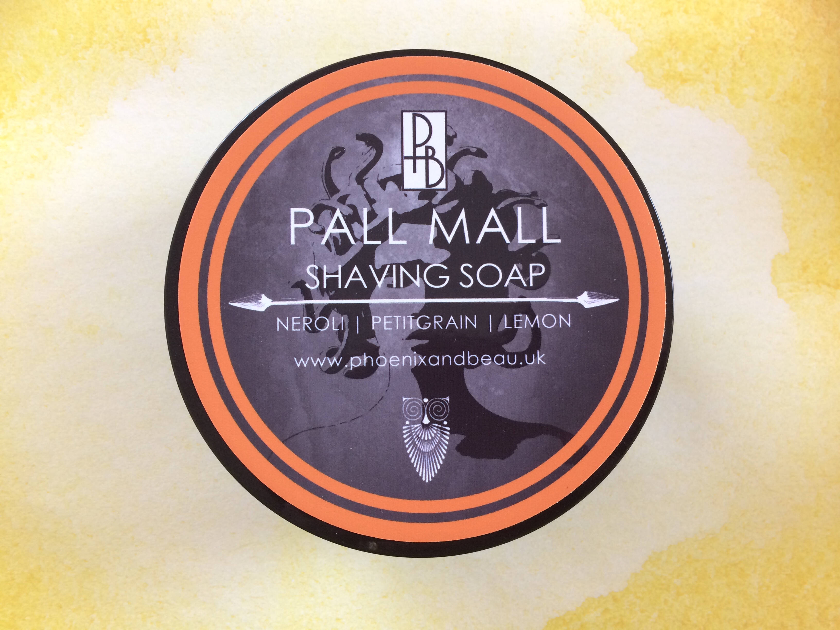Phoenix & Beau Pall Mall Shaving Soap | Agent Shave