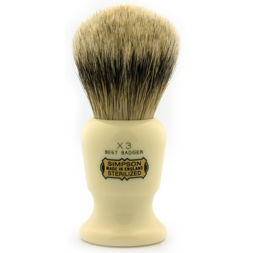 Simpsons The Commodore Shaving Brush X3 | Agent Shave